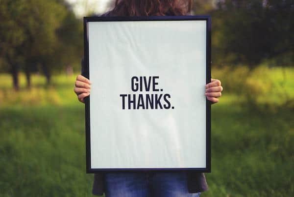 Kracht van dankbaarheid