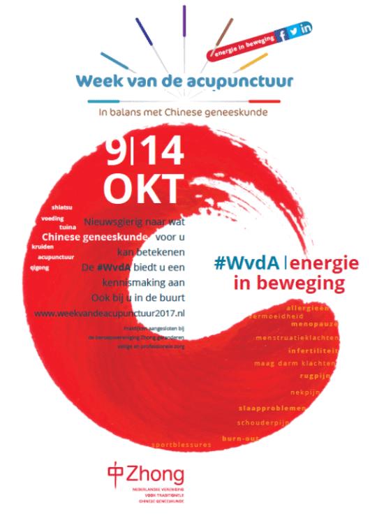 Week van de acupunctuur 2017